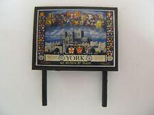 York See Britian by Train BR - Model Railway Billboard - N & OO Gauge