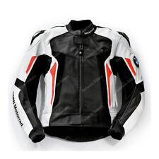 BMW Giacca in Pelle da Motociclista Uomo Motocicletta Pelle Giacca EU 46-52-60