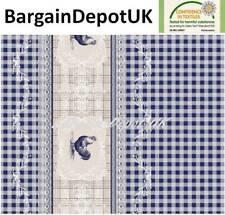 Farm Check PVC Wipe Clean Vinyl Tablecloth  ALL SIZES  Code: F193-2