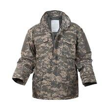 M-65 Field Jacket ACU Digital Camo Style US Army Combat Hunting Camouflage XS-3X