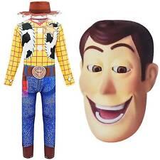 NEW W035B Boy Kids Superhero Police Woody Sheriff Costume Birthday Party 2-7Yrs