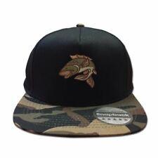 Mens Snapback Cap Retro Style Six Panel Hip Hop Carp Fishing Baseball Summer Hat
