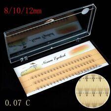 Long Eyelashes Extension 0.07 C Black Individual 5D Wave Mink False Eye Lashes