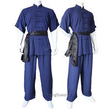 kungfuworld Soft Cotton Changquan Uniform Kung fu Martial arts Tai chi Suit