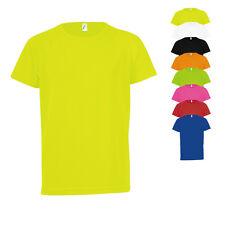 Sols Kinder Junior Kids Raglan Sleeved T-Shirt Sporty Doppelnähte Basic Neuware