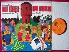 Die Drei im Turm    rare Funkuchen LP im prima Zustand