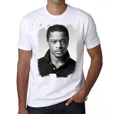 Patrice Evra t shirt homme, Manches Courtes, Coton blanc cadeau