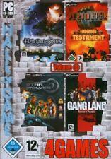 4 PC Spiele u.a Haegemonia - Legions of Iron, Star Wolves, Gangland, Perimeter: