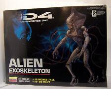 1/10 ALIEN Aliens EXOSKELETON Model Kit Indepedence Day Movie ID4 Rare Vintage