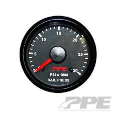 "PPE FUEL RAIL PRESSURE GAUGE 2 1/16"" Fits 03-06 DODGE CUMMINS & 01-05 GM DURAMAX"