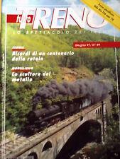 Tutto Treno 99 1997 Poster plastificato ALn 556 anni 70