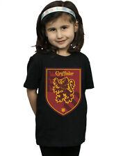 Harry Potter Niñas Gryffindor Crest Flat Camiseta