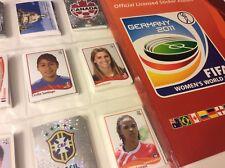 PANINI WM 2011 FRAUEN Fußball RARE STICKER ALBUM  GERMANY 2011 WOMEN'S WORLD CUP