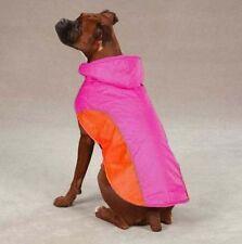 Dog Cat Apparel Clothes Zack & Zoey Raspberry Blizzard Jacket Weather Resistant