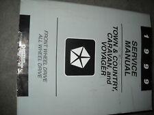 1999 DODGE CARAVAN CHRYSLER TOWN & COUNTRY VOYAGER Service Shop Repair Manual 99