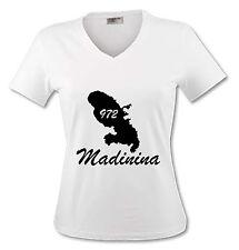 T-shirt Femme Martinique 972 - Madinina - du S au XL