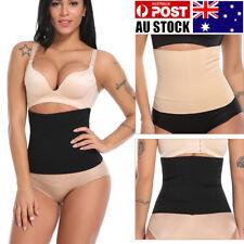AU Women Seamless Body Shaper Corset Cincher Boned Tummy Slim Waist Trainer Belt