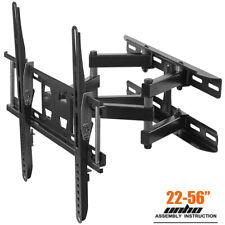 TV Wall Mount Bracket Swivel Tilt Rotating for 32-56in 400x400mm Wall Plate VESA