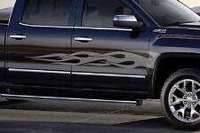 Flame Stripe Decals GMC Sierra / Chevy Silverado Stripes Graphics kit  3M