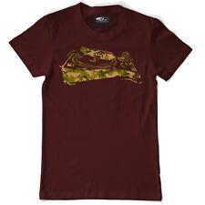 Technics/DMC T-Shirt - 1210/1200 Camo Deck Bordeaux (S-XXL) t103m