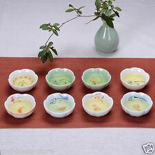 Porcelain tea cup fish cups handpainted craft ceramic cup 80ml kung fu tea cups