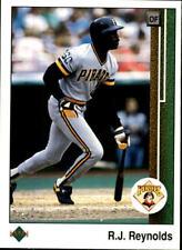 1989 Upper Deck Baseball Base Singles #315-419 (Pick Your Cards)
