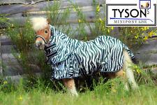 Fliegendecke Zebra Minipony Minishetty Shetty Hals 60 65 70 75 80 85 90 95 100