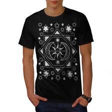 Sun Moon Stylish Fashion Men T-shirt NEW | Wellcoda