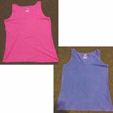 Lady's Tank L Hanes CHOICE pink or purple