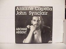 ANTOIUNE CAPELLA JOHN SYNCLAIR Abonné absent SOL 690 AUTOPRODUIT