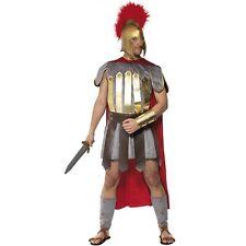 Hombre Guerrero Romano Gladiador Disfraz de Soldado Disfraz Por Smiffys NUEVO