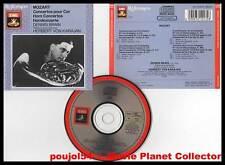"MOZART ""4 Concertos Pour Cor"" (CD) Brain,Karajan 1987"