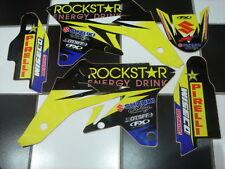 Suzuki Rockstar Decals Stickers Graphics 2008 RMZ 250