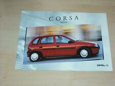 36363) Opel Corsa B Swing Polen Prospekt 2000