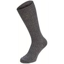 MFH BW Socken, Keilferse, grau