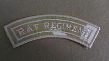 Royal Air Force RAF Shoulder Title Desert