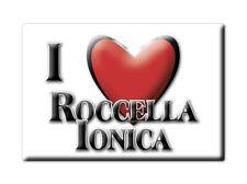 CALAMITA CALABRIA FRIDGE MAGNET MAGNETE SOUVENIR LOVE ROCCELLA IONICA (RC)