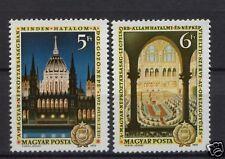 Hungría 1972 Sg # 2704-5 Constitución día Mnh Set