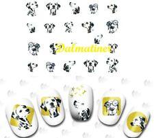 Nail Art Sticker - Nailart Dogs Nail Sticker Tattoo Sticker Dog wassertransf