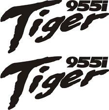 Triumph Tiger 955i  Vinyl badges x 2