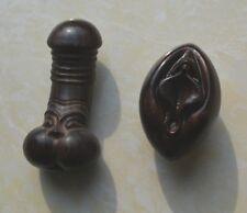 Sandwood Carving Carved Penis Vagina Sex Life Origin Pendant Decoration Culture