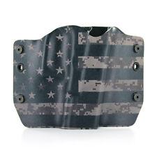 Ruger, DIGITAL GRAY USA , OWB Kydex Gun Holsters