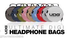 UDG Ultimate Digi Headphone Bag Borsa per Cuffie Chiavette Usb Accessori NUOVA