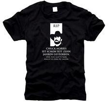 Chuck Norris ist schon seit 10 Jahren gestorben - Herren-T-Shirt, Gr. S bis XXL