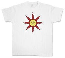 SUN LOGO DARK SOUL T-SHIRT - Firelink Shrine Dark Gamer Nerd Larp Souls T-Shirt