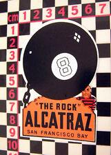 Alcatraz Verre Autocollant américain WAGON Pick-Up Van voiture chevrolet ford