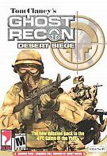 PC Tom Clancy's Ghost Recon Desert Siege (2002) Sealed