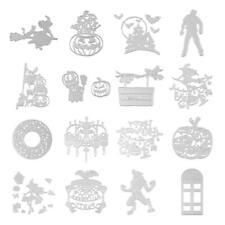 VS2# Halloween Cutting Dies Stencils Scrapbook Embossing DIY Craft Album Card