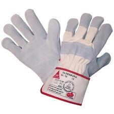 Hase Oldenburg Arbeits Sicherheits Handschuhe gefüttert Spaltleder Canvas Stulpe