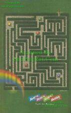 Skittles Taste the Rainbow: Maze Labyrinth: Print Ad!